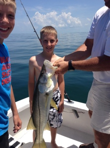 15 lb Snook Simmons Boys